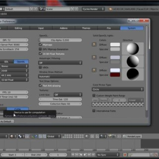 "Blender NeuEinsteiger Cycles Tutorial ""Rendern?""  Deutsch by Geblendert"