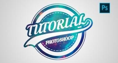 Photoshop | Logo Design Tutorial | Galaxy Logo