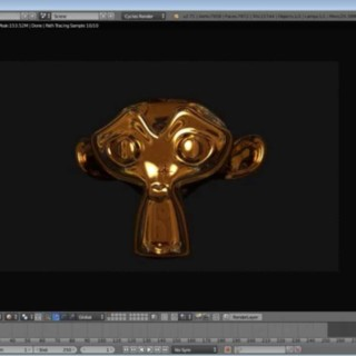Blender 2.71 Cycles Render Gold Material HDRI Tutorial