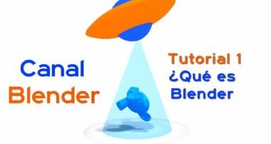 Curso Blender – 01 – ¿Qué es Blender?