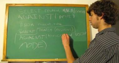 MySQL Tutorial 67 – How to Organize In Boolean Mode FINAL VIDEO!