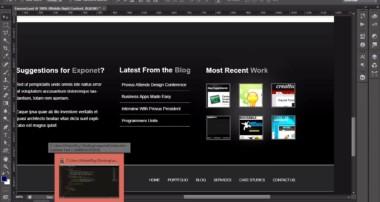 Demo Chuyển PSD Thành HTML/CSS dùng Bootstrap