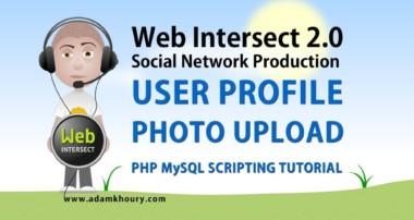 13. User Profile Photo File Upload HTML Form Tutorial PHP Parse Script MySQL