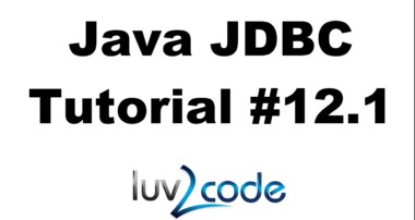 Java JDBC Tutorial – Part 12.1: Connect Java Swing GUI to a MySQL Database – Overview