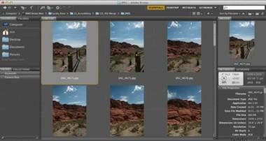Photography tutorial: Merging the 360-degree panoramic photo | lynda.com