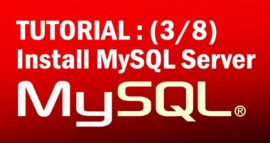 mysql tutorial for beginners (3/8) : Setting Up a Development Server