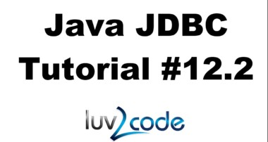 Java JDBC Tutorial – Part 12.2: Connect Java Swing GUI to a MySQL Database – Create the DAO