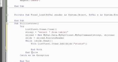 vb 2008 and mysql – tutorial # 4(sql select statement).avi