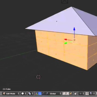 2015 Blender Absolute Beginner Making a simple house Tutorial  Episode 1-2