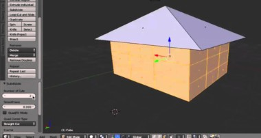 2015 Blender Absolute Beginner Making a simple house Tutorial  Episode 1-2