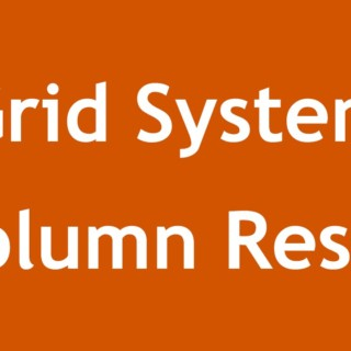 [ Twitter Bootstrap 3 In Arabic ] #07 – Grid System Column Reset