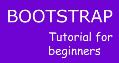 Header and Footer navigation bars:Bootstrap tutorial for beginners#4