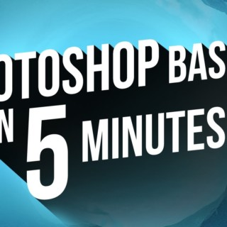 Learn Photoshop in 5 Minutes – The Basics for Beginners (CC 2017)