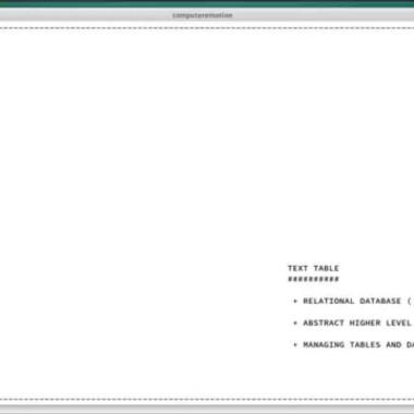 TEXT TABLE, MYSQL TUTORIAL, PART 3