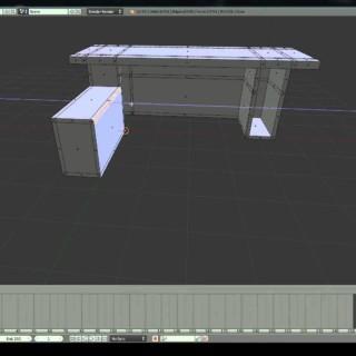 Desk Modeling | Blender Tutorial