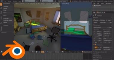 Mes premiers pas sur Blender 3D