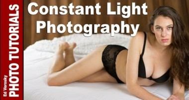 Constant Light Photography for Portraiture Using Three Point Lighting