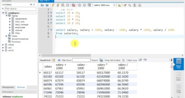 MySQL Tutorial- 6강 연산자 사용하기(Using operators)