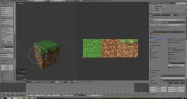 Blender 3D Tutorial – UV-Mapping, Minecraft-Blöcke texturieren [German] [FULL HD]