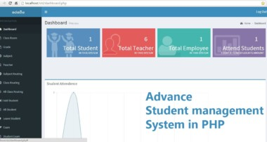 Student Management System in PHP and MySql