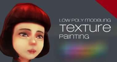 blender 3d low poly texture painting