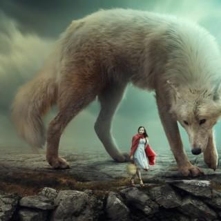 Big Wolf – Photoshop Manipulation Tutorial