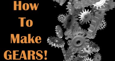 Blender Tutorial – How To Make Gears (3D Graphics)