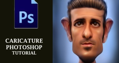 Photoshop Tutorial , How to make caricature in photoshop cs6