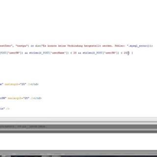 [Tutorial]Einfacher PHP Login mit Mysql Datenbank