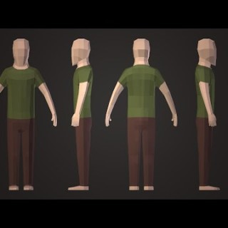 | PigArt | BLENDER Tutorial?: Low Poly Character.