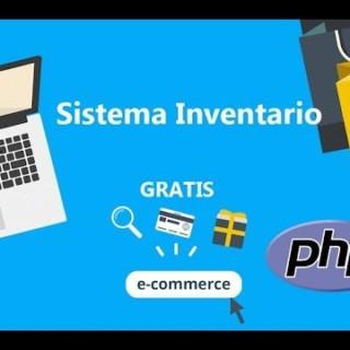 sistema  de inventario en php y mysql, GRATIS