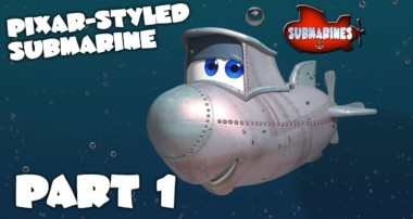 Blender Tutorial Series – Pixar-style Submarine – Part 1 – Beginning the Model