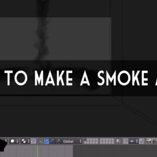 Blender Tutorial: How to make Smoke in Blender Cycles