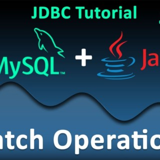 JDBC Tutorial for Beginners #10 : Batch Operations