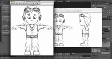 [Darrin Lile] – Modellazione di un personaggio in Blender 3D – Capitolo 1