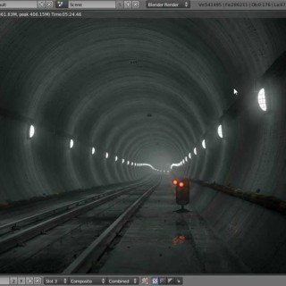 Create an Underground Subway Scene in Blender – Part 1 of 2