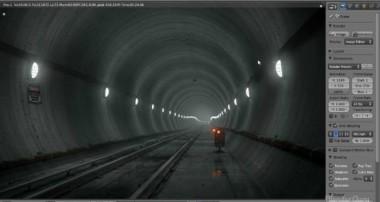 Create an Underground Subway Scene in Blender – Part 1 of 2