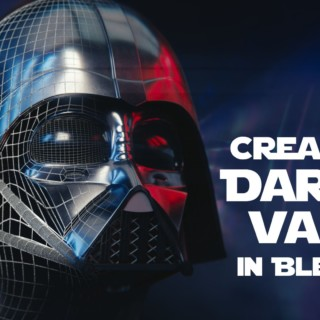 Blender Tutorial : Star Wars Darth Vader Helmet – 01