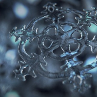 Blender Tutorial I Rendering a Snowflake in Cycles