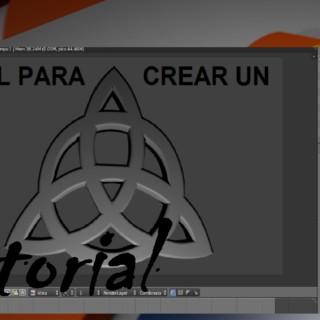Tutorial de como crear un logo 3D en blender con curvas beizer I