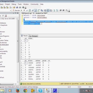 Part 13 Sub Query in Sql in Hindi