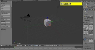 Beginners (Complete newbies) Tutorial For 3D Modeling In Blender Part 1