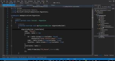 ASP.NET CORE COM MYSQL