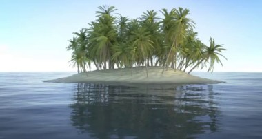 Blender 3D Tutorial : Modeling, Shading, Compositing an Island (1/5)