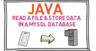 How to Read a text File and Store Data in MySQL Database using Java