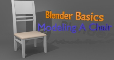 Blender Basics – Modeling A Chair Tutorial