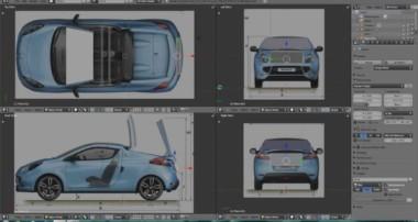 Blender Tutorial: Modelling Teil 1 – Blaupausen ausrichten