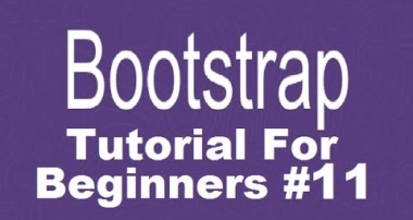 Bootstrap Tutorial For Beginners 11 – Get Started with Font Awesome and Adding Social Icons