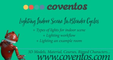 Tutorial – Lighting Indoor Scene In Blender Cycles