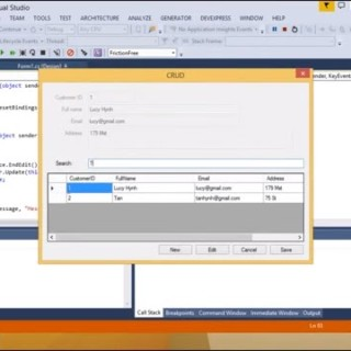 C# Tutorial – Insert Update Delete View and Search data in MySQL | FoxLearn